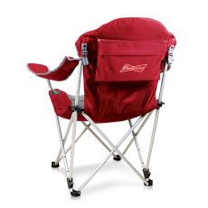 Budweiser - Reclining Camp Chair by Picnic Time (Red)