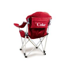 Coca-Cola - Reclining Camp Chair by Picnic Time (Red)
