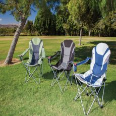 Reclining Camping Chair - Sage Green