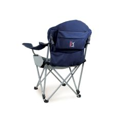 PGA Tour - Reclining Camp Chair by Picnic Time (Navy)