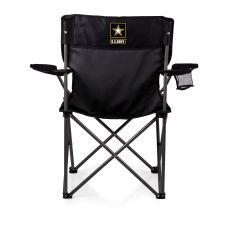 U.S. Army - PTZ Camp Chair by Picnic Time (Black)