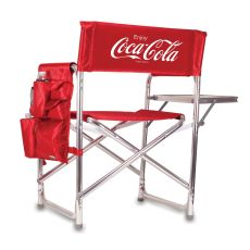 Coca-Cola - Sports Chair by Picnic Time (Red)