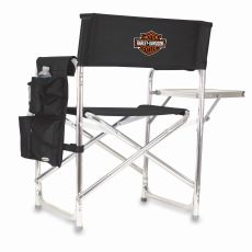 Harley-Davidson - Sports Chair by Picnic Time (Black)