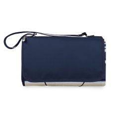 Blanket Tote-Blue Stripe/Navy F