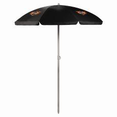 Harley-Davidson - 5.5' Portable Beach/Picnic Umbrella by Picnic Time (Black)
