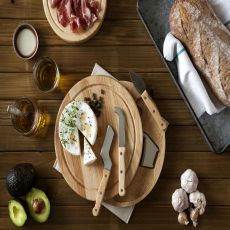 Circo-Cheese Board With Tools Round