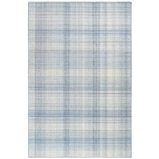 """Liora Manne Preston Plaid Indoor/Outdoor Rug Blue 42""""X66"""""""