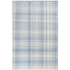 """Liora Manne Preston Plaid Indoor/Outdoor Rug Blue 5'X7'6"""""""