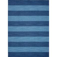 Stripes Pattern Wool Pura Vida Area Rug