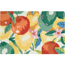 "Citrus Bunch Polyester Rug, 22""X34"""