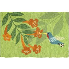 Hummingbird Nectar Indoor Outdoor Rug, 22 x 34 in.
