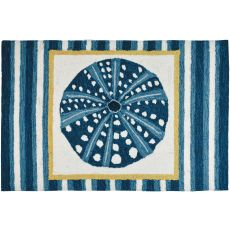 Sea Urchin Tile Indoor Accent Rug 22 x 34 In.