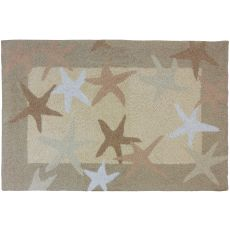 Starfish Field Indoor Outdoor Rug, 22 x 34 in.