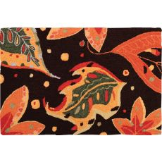 "Autumn Leaves Polypropylene Rug, 22""X34"""