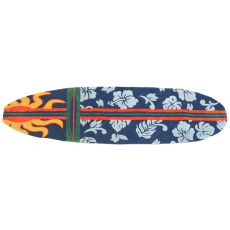 "Surfboard Hawaiian Navy Indoor Only Rug, 22"" X 34"""