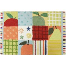 "Farm Fresh Fruit Polyester Rug, 22""X34"""