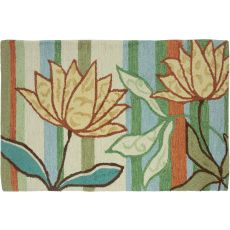 Isabella'S Garden Indoor Outdoor Rug, 22 x 34 in.