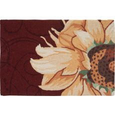 Radiant Sunflower Indoor Outdoor Rug, 22 x 34 in.
