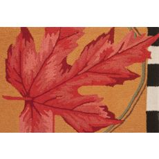 "Autumn Leaf  Polypropylene Rug, 22""X34"""