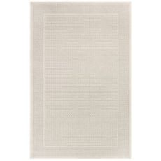 """Liora Manne Plymouth Border Indoor/Outdoor Rug Taupe 23""""X7'6"""""""
