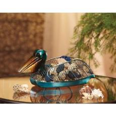 Figurine Pelican Basket
