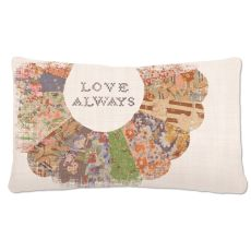 Quilted Wisdom 12X20 Pillow