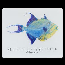 Queen Trigger White Cutting Board