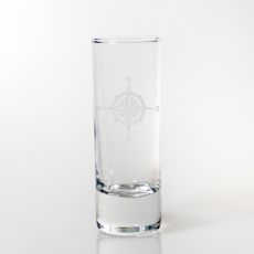 Compass Rose Cordial Glass