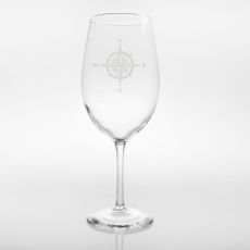Compass Rose Glasses, Set of 4