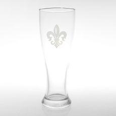 Grand Fleur De Lis Pilsner Glasses, Set of 4