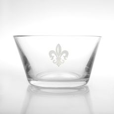 "Grand Fleur De Lis Clear Small Bowl 6"", Set of 4"