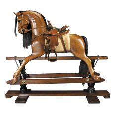 Rocking Horse, Western Saddle