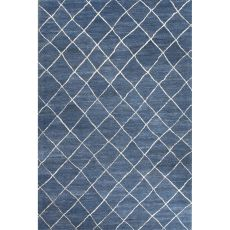 Tribal Pattern Wool Riad Area Rug