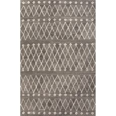 Tribal Pattern Wool Riad Area Rug