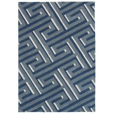 "Maze Denim Rug 42"" X 66"""