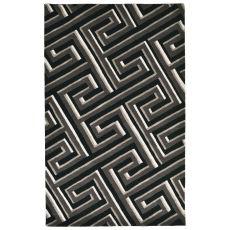 Maze Grey Rug 9' X 12'
