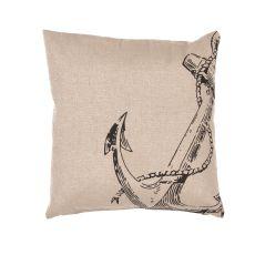 Modern/Contemporary Pattern Jute And Cotton Rustique Pillows Down Fill Pillow