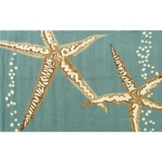 Starfish Hook Indoor / Outdoor Rug - 8X10