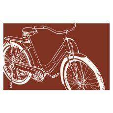Bicycle Red Hook Rug
