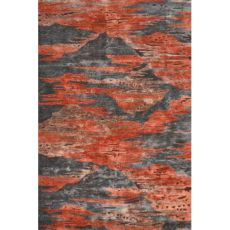 Rockies Red Tufted Handmade Indoor Rug - 8X11