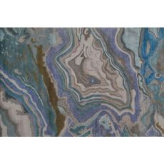 Abstract Agata Wool Art Silk Rug - 8X11