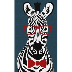 Hipster Zebra Indoor / Outdoor Rug