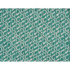 Yang Teal Indoor / Outdoor Rug - 7X10