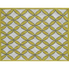 Diamonds Yellow Indoor / Outdoor Rug - 5X7