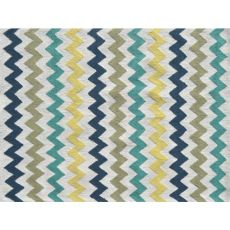 Chevron Multi Indoor / Outdoor Rug - 7X10