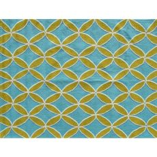 Diamonds Green Indoor / Outdoor Rug