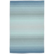 "Liora Manne Ravella Ombre Indoor/Outdoor Rug - Blue, 7'6"" by 9'6"""