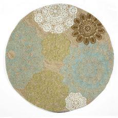Liora Manne Ravella Crochet Indoor/Outdoor Rug - Natural, 8' By 8'