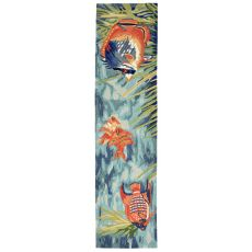 "Tropical Fish Ocean Rug 24"" X 8'"