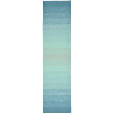 "Liora Manne Ravella Ombre Indoor/Outdoor Rug - Blue, 24"" by 8'"